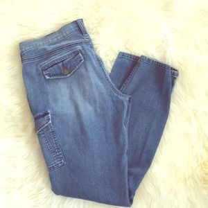 Old Navy Diva Cargo Denim Jeans
